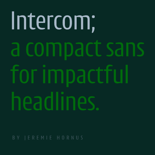 Intercom header